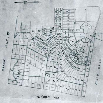 תוכנית הפיתוח והבנוי של הרצליה שנות ה-20